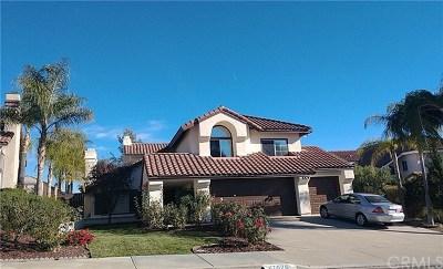 Murrieta Single Family Home For Sale: 40620 Via Diamante