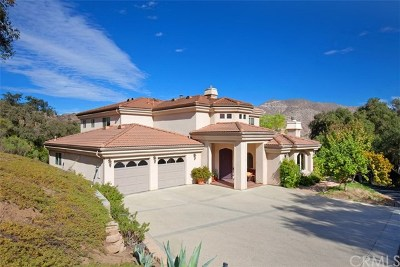 Fallbrook Single Family Home For Sale: 4007 Millagra Drive