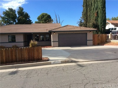 Moreno Valley Single Family Home For Sale: 11969 Ivy Lane