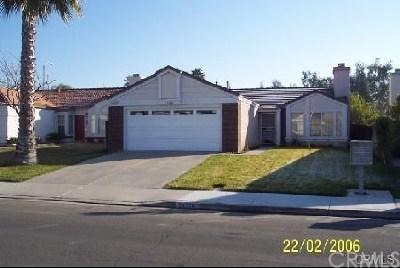 Murrieta Single Family Home For Sale: 24728 Morning Star Drive