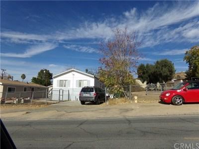 Wildomar Single Family Home For Sale: 21296 Olive Street