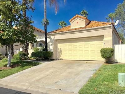 Murrieta CA Single Family Home For Sale: $349,900