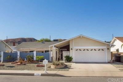 Menifee Single Family Home For Sale: 27515 Boston Drive