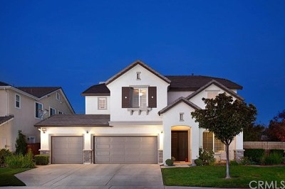 Murrieta Single Family Home For Sale: 24150 Madeira Lane