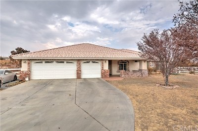 Hesperia Single Family Home For Sale: 8270 Bangor Avenue