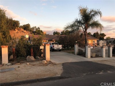 Perris Single Family Home For Sale: 18550 Cable Lane