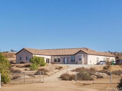 Hemet Single Family Home For Sale: 38752 Ruth Road