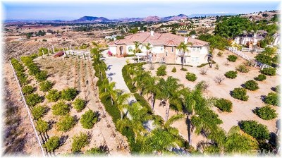 Temecula CA Single Family Home For Sale: $1,499,900