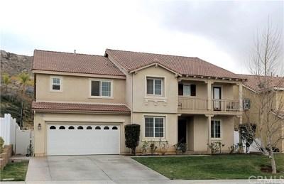 Moreno Valley Single Family Home Active Under Contract: 26961 Cimarron Canyon Drive