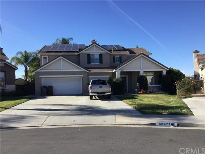 Murrieta Single Family Home For Sale: 40077 Cascada Street