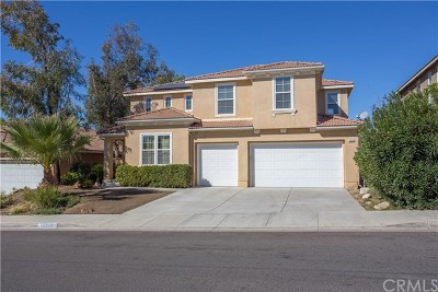 Wildomar Single Family Home For Sale: 36009 Frederick Street