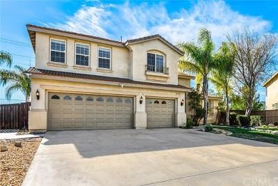 Murrieta Single Family Home For Sale: 41710 Grand View Drive