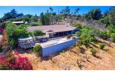 Fallbrook Single Family Home For Sale: 115 Via De Casa