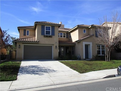 Wildomar Single Family Home For Sale: 35619 Bovard Street