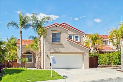 Riverside, Temecula Single Family Home For Sale: 32869 Verona Court