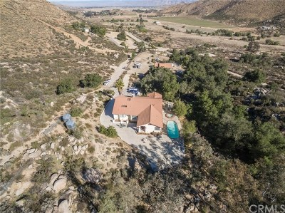 Hemet Single Family Home For Sale: 39155 Saddle Ridge Road