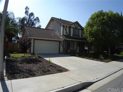 Moreno Valley CA Single Family Home For Sale: $325,000