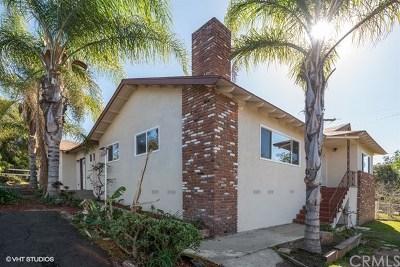 Fallbrook Single Family Home For Sale: 2060 E Mission Road