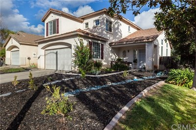 Murrieta Single Family Home For Sale: 39840 Ashwood Lane