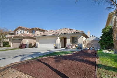 Winchester Single Family Home For Sale: 34574 Agonis Way