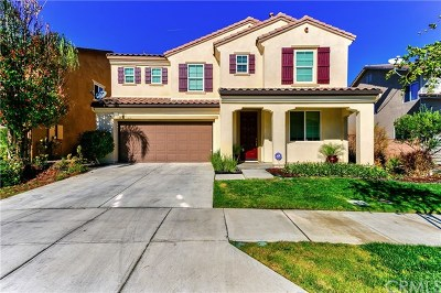 Corona Single Family Home For Sale: 10958 Clover Circle