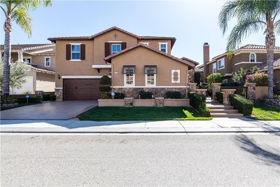 Murrieta Single Family Home Active Under Contract: 27158 Red Maple Street