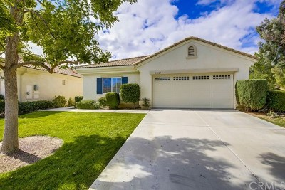 Murrieta CA Single Family Home For Sale: $439,000