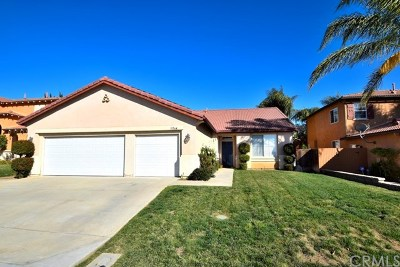 Menifee Single Family Home For Sale: 31564 Palomar Road