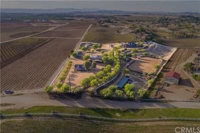 Murrieta, Temecula Single Family Home For Sale: 40125 Camino Del Vino