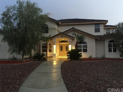 Hemet Single Family Home For Sale: 40365 Thornton Avenue