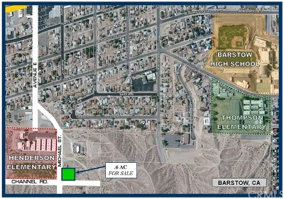 Barstow Residential Lots & Land For Sale: Michael Street