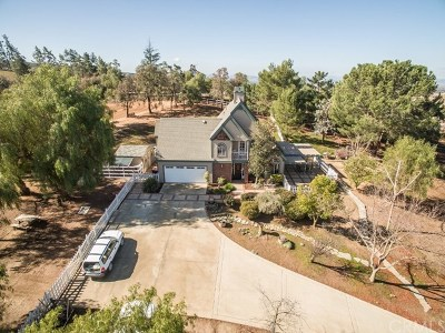 Temecula Single Family Home For Sale: 38925 Calle Breve