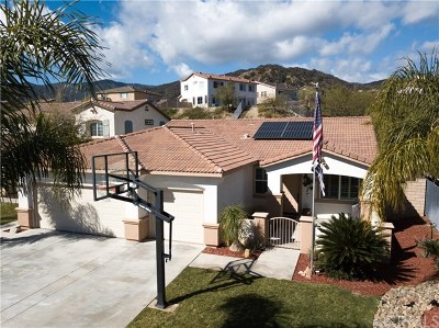 Lake Elsinore Single Family Home For Sale: 29431 Star Ridge Drive