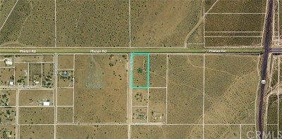 Hesperia Residential Lots & Land For Sale: Phelan Road