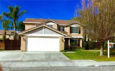Hemet Single Family Home Active Under Contract: 3824 Tulsa Court