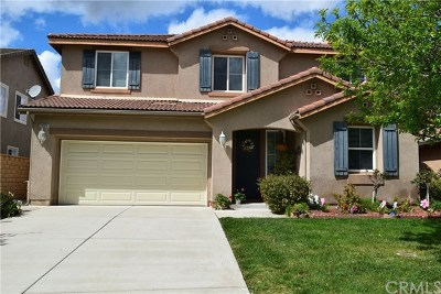 Murrieta Single Family Home For Sale: 22929 Belcara Place