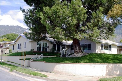 Pasadena Single Family Home For Sale: 3865 Cartwright Street