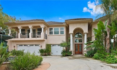 Chino Hills CA Single Family Home For Sale: $2,100,000