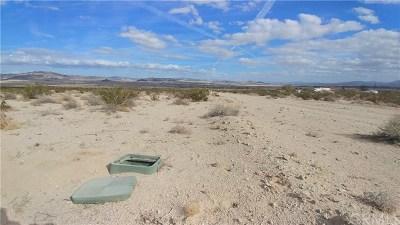 San Bernardino County Residential Lots & Land For Sale: Desert Flower