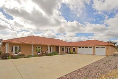 Murrieta Single Family Home For Sale: 38933 Calle De Companero