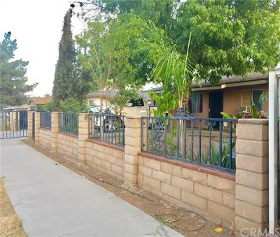 Perris Single Family Home Active Under Contract: 169 Perou Street