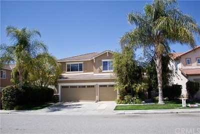 Menifee Single Family Home For Sale: 29560 Camino Cristal