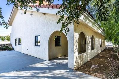 Temecula Single Family Home For Sale: 38660 De Portola Road