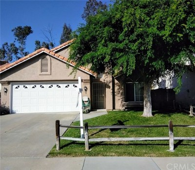 Murrieta Single Family Home For Sale: 24646 Leafwood Drive