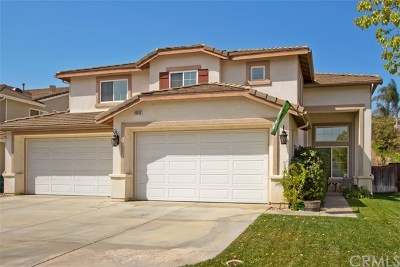 Murrieta Single Family Home For Sale: 23459 Karen Place