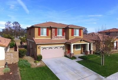 Menifee CA Single Family Home For Sale: $399,000