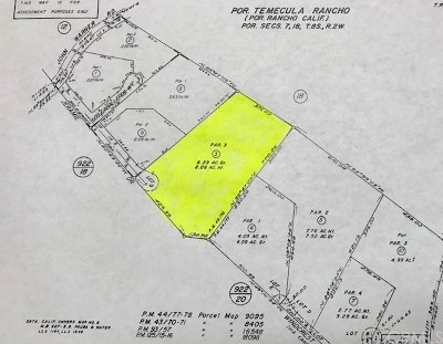 Temecula Residential Lots & Land For Sale: Jeramie Drive