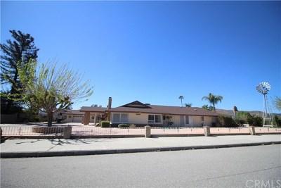 Hemet Single Family Home For Sale: 39281 Diamond Road