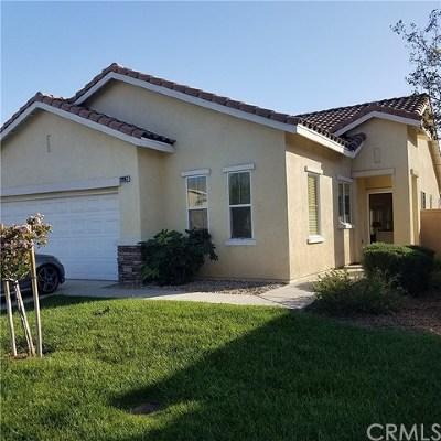 Menifee CA Single Family Home For Sale: $425,000