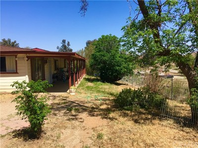 Perris Single Family Home For Sale: 25351 Marie Street